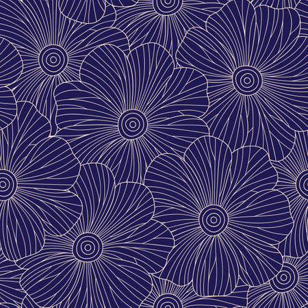 elegance: Abstract Elegance Seamless pattern in ethnic style