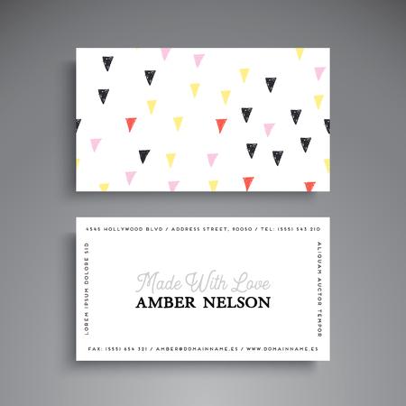 Business Card. Vintage decorative elements Stock Vector - 80121307