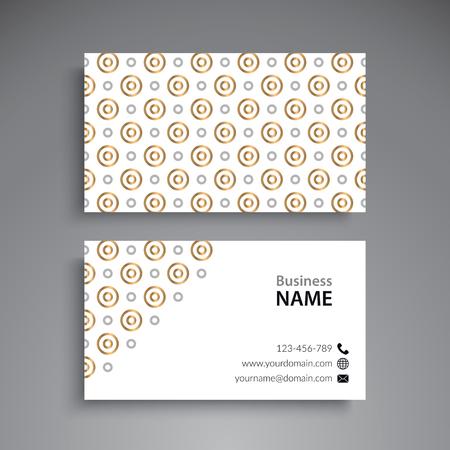 Business Card. Vintage decorative elements Stock Vector - 80122089