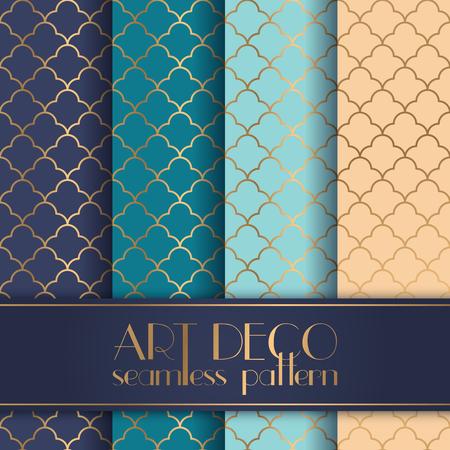 great: Art Deco seamless pattern