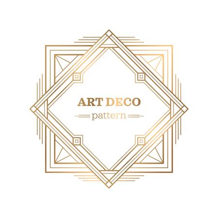gatsby art deco background 免版税图像