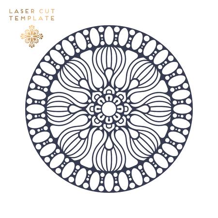 indian Mandala Vector illustration.