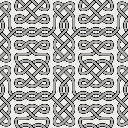 Ethnic vector celtic ornament. Abstract ornamental pattern