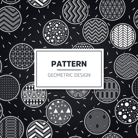 Ethnic floral seamless pattern. Abstract ornamental pattern Vettoriali