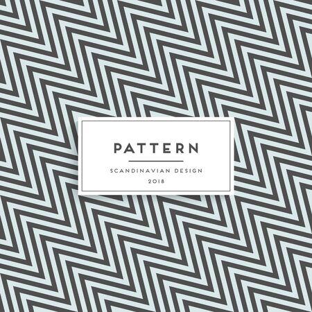 Scandinavian floral seamless pattern. Fabric print design Vector illustration.