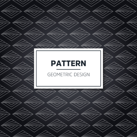 Seamless geometric pattern. Geometric simple print. Vector repeating texture. Modern hipster. Minimalistic repeating background
