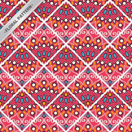 Seamless pattern tile Stock Vector - 99408106