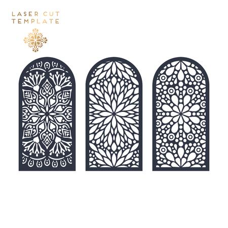 Laser cut Islamic pattern