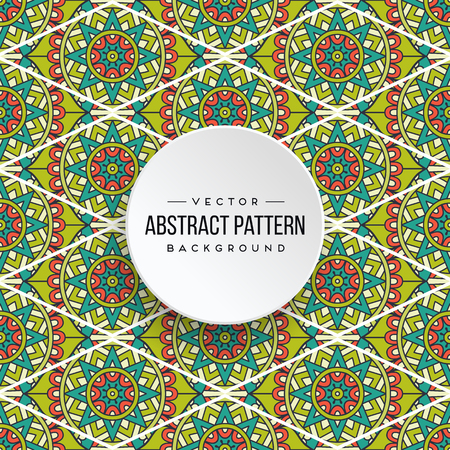 Seamless pattern tile. Vintage decorative elements. Hand drawn background Stock Vector - 100875309