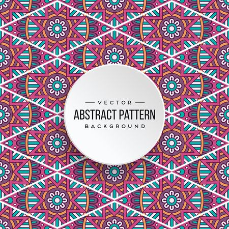 Seamless pattern tile. Vintage decorative elements. Hand drawn background Stock Vector - 100875038