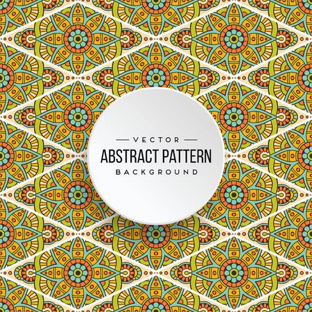 Seamless pattern tile Stock Vector - 100974925