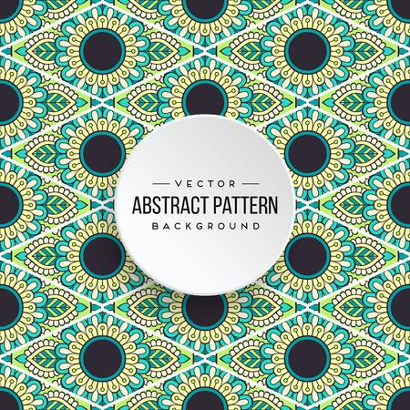 Seamless pattern tile Stock Vector - 100975089