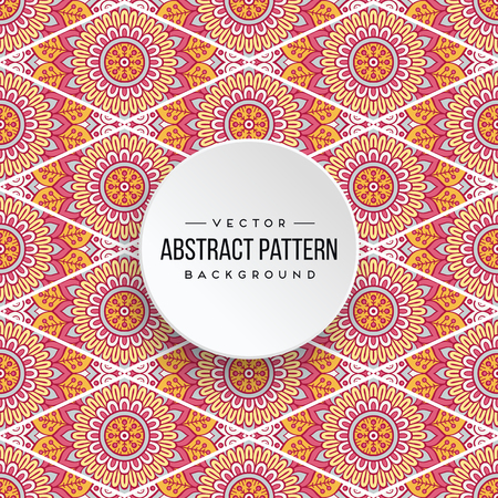 Seamless pattern tile. Vintage decorative elements. Hand drawn background Stock Vector - 100872461