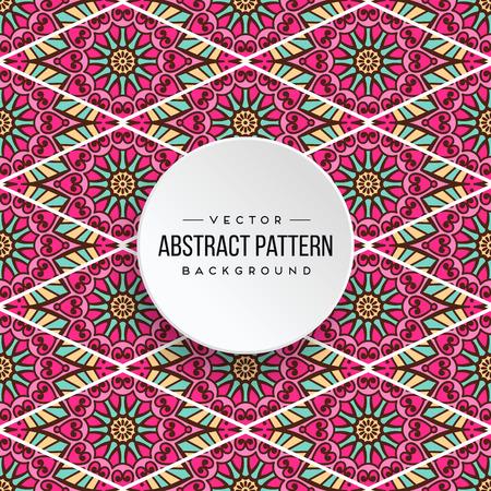 Seamless pattern tile Stock Vector - 100975096