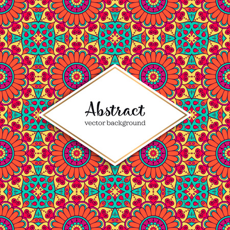 Seamless pattern tile. Vintage decorative elements. Hand drawn background Stock Vector - 101047095