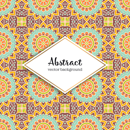 Seamless pattern tile. Vintage decorative elements. Hand drawn background Stock Vector - 101023431