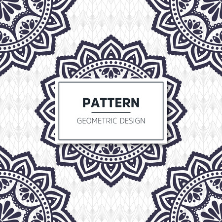 Seamless pattern tile. Vintage decorative elements. Hand drawn background Stock Vector - 104695752