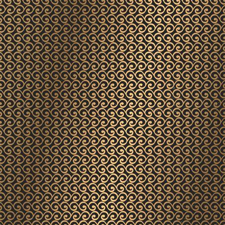 Luxury gold monogram. Vintage decorative elements. Ornamental floral business cards, oriental pattern Stock Vector - 107968461