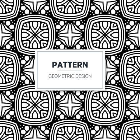 Seamless mandala islamic pattern. Vintage islamic elements Vektoros illusztráció