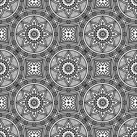 Seamless pattern. Vintage decorative elements Ilustracje wektorowe