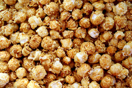 the texture is popcorn made from corn