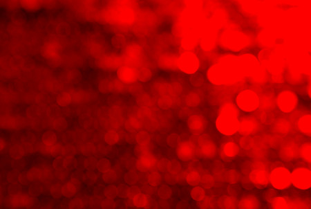 abstract background with small circles blurred color red