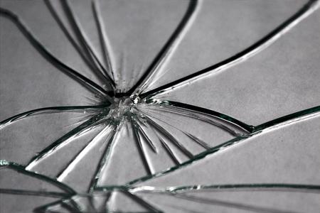 texture broken glass Stock Photo
