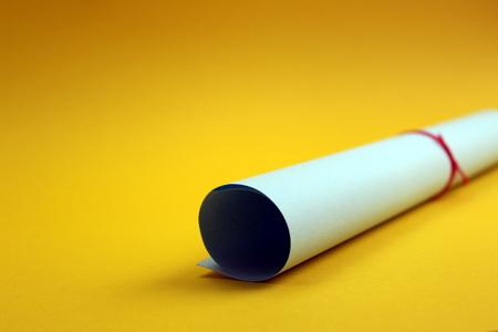 gewelltes Papier