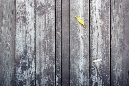wooden retro plank texture with yellow sheet