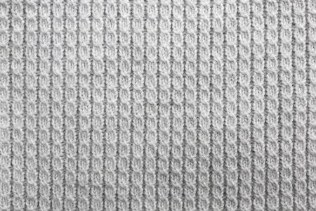 Texture knitted gray space in the form of weaving
