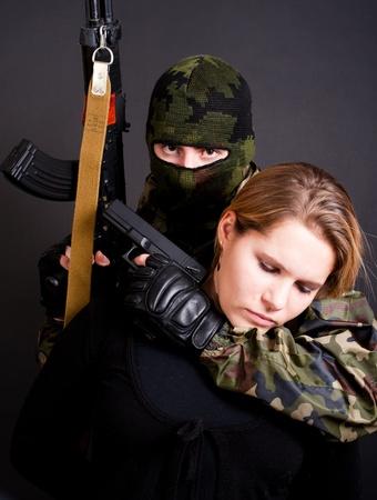 terrorist and hostage