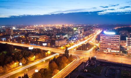 evening Kaliningrad