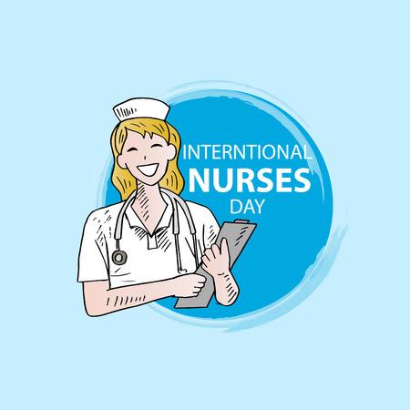 International Nurses Day. May 12th