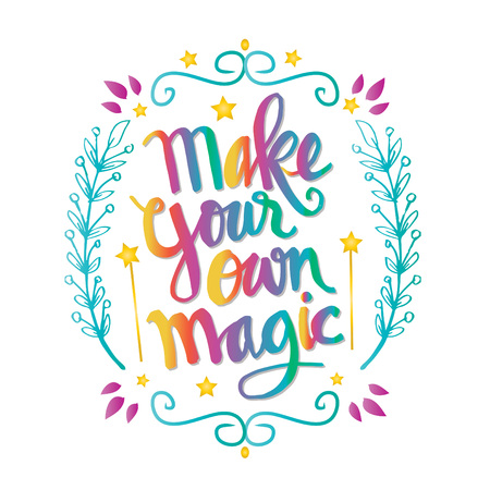Make your own magic quotes Stock fotó - 98302764