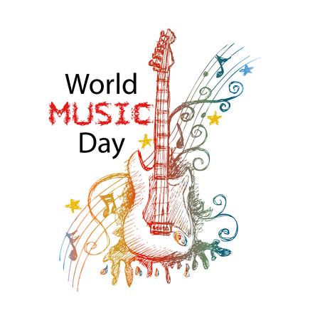 World Music Day Vettoriali
