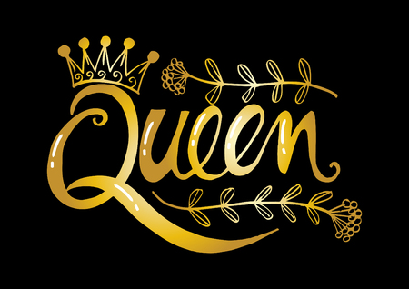 Queen hand  lettering