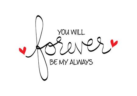Tu seras toujours mon toujours