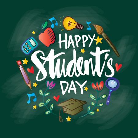 Bonne fête des étudiants. 17 novembre