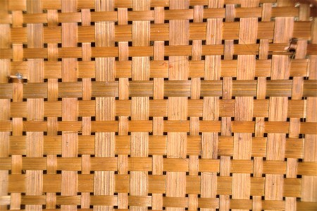 Woven bamboo backgrounds.