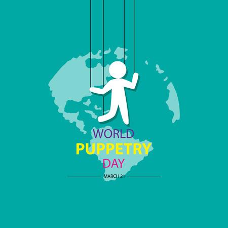 Día Mundial de la Marioneta, 21 de marzo.