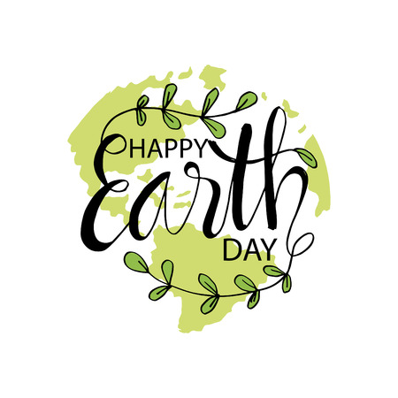 Happy earth day. April 22