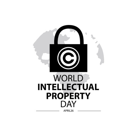 World Intellectual Property Day concept. April 26.