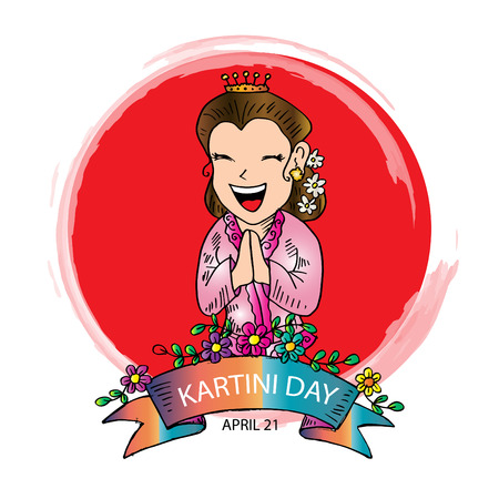 Kartinis Day. Indonesian Woman Emancipation Day. 21 april