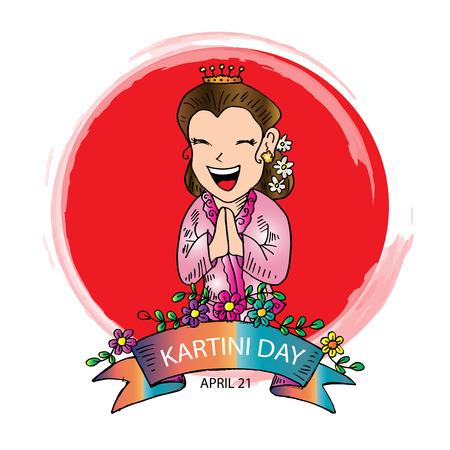 Kartinis Day. Indonesian Woman Emancipation Day. 21 april