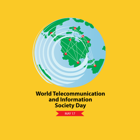 World Telecommunication and Information Society Day. Ilustração