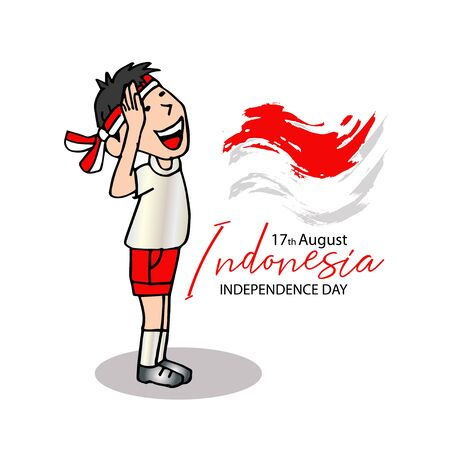 Happy Independence Day Indonesia. August 17.