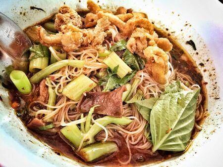 style: Thai noodles style Stock Photo