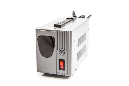 regulator: voltage regulator isolated on white
