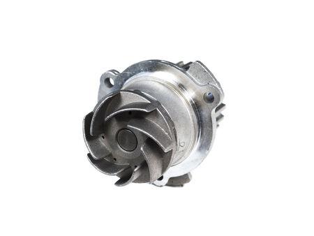 automotive pump isolated on white background photo