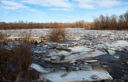 ice storm: environmental disaster in the spring